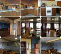 Большая кухня-столовая для общего пользования